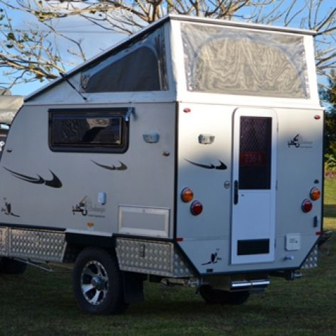 Amazing JAWA MIRAGE JC14 14FOOT POP TOP OFFROAD CAMPER TRAILER For Sale In